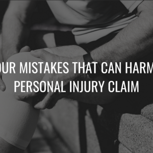 Cover image for Top Four Mistakes That Can Harm Your Personal Injury Claim blog