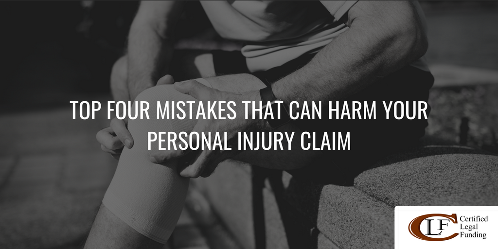 Harm Your Personal Injury Claim