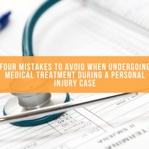 Cover images for Four Mistakes To Avoid When Undergoing Medical Treatment During A Personal Injury Case