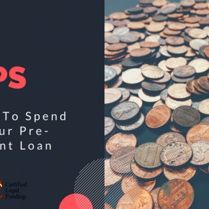 Cover for 4 Tips On What To Spend Using Your Pre-Settlement Loan