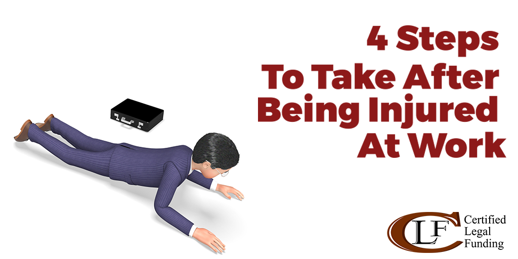 Featured image for the article Called 4 Steps to Take After Being Injured At Work