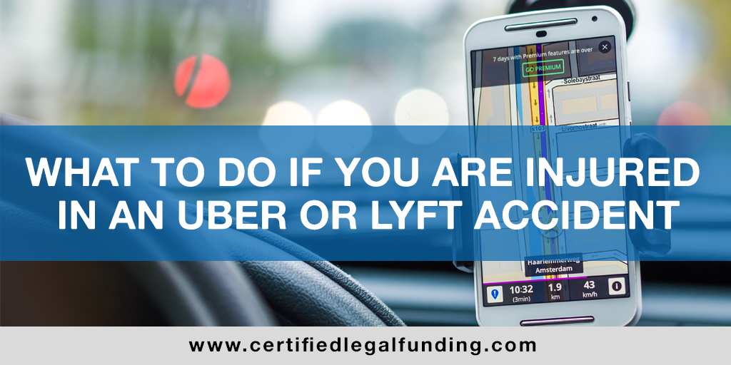 Injured in an Uber or Lyft Accident