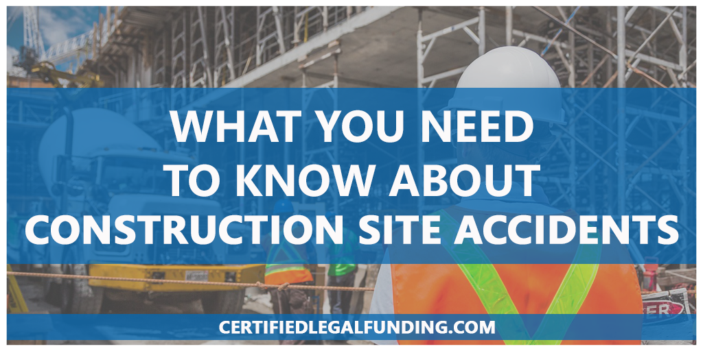 Featured image for an article called What You Need To Know About Construction Site Accidents