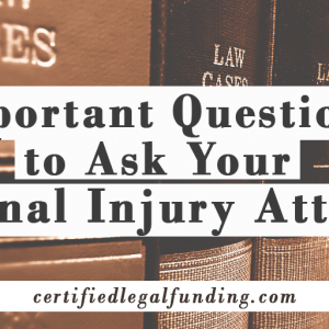 Featured image for an article called Important Questions to Ask Your Personal Injury Attorney