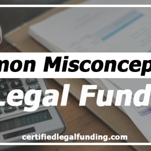 Featured image for an article called Misconceptions of Legal Funding