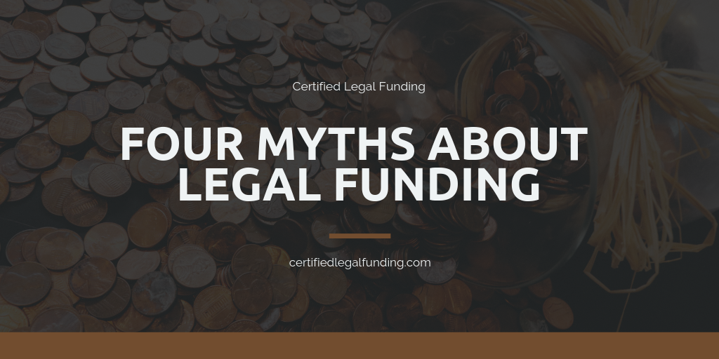 Featured image for an article called Four myths about legal funding