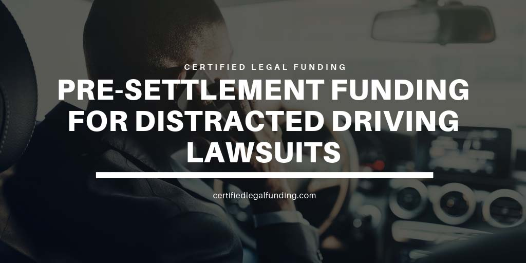 Featured image for an article called Pre-settlement Funding for Distracted Driving Lawsuits