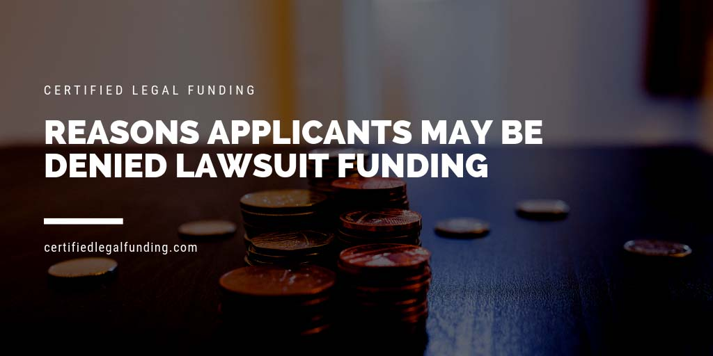 Featured image for an article called Reasons Applicants May Be Denied Lawsuit Funding