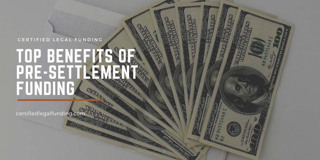Featured image for an article called Top benefits of pre-settlement funding