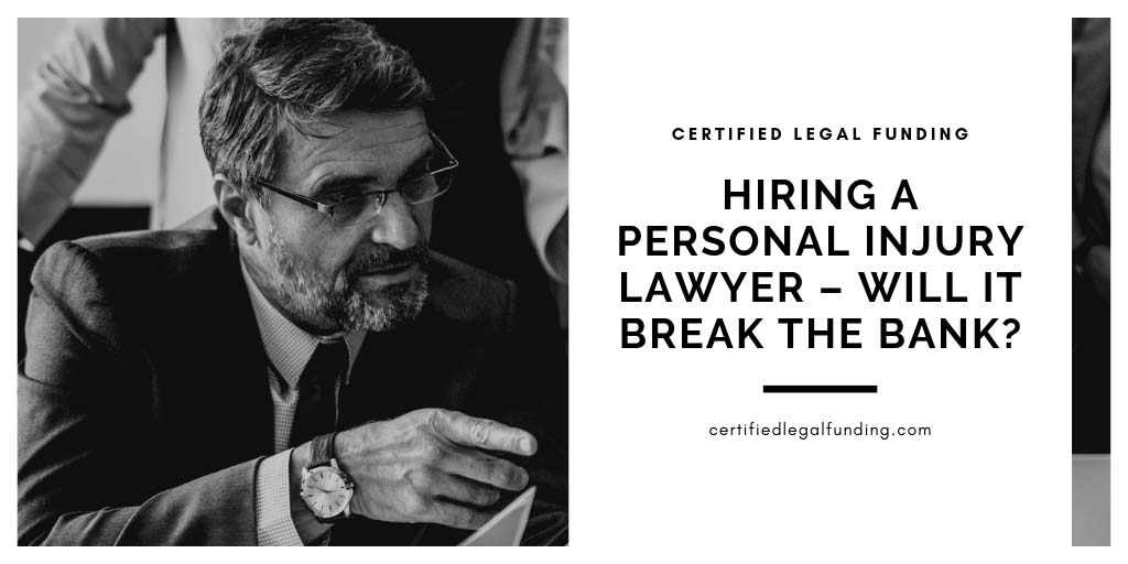 Featured image for an article called Hiring a personal injury lawyer – will it break the bank