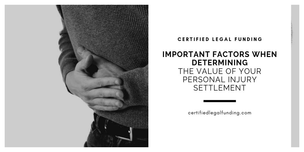 Featured image for an article called Important Factors When Determining the Value Of Your Personal Injury Settlement