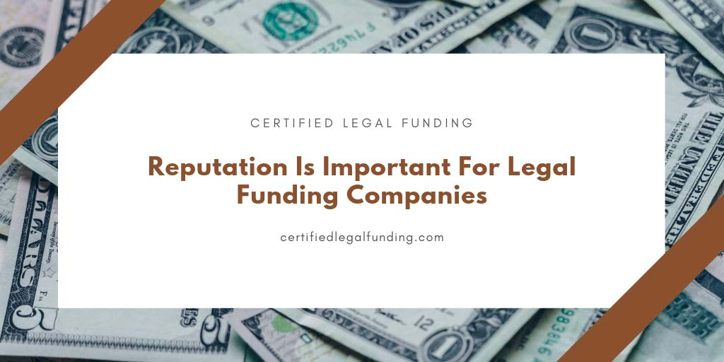 Featured image for an article called Reputation Is Important For Legal Funding Companies