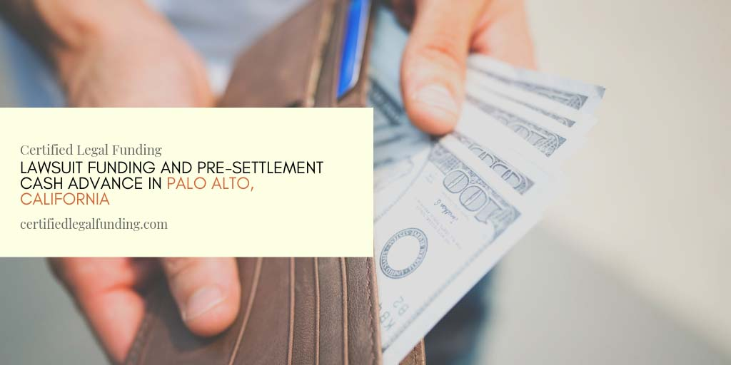 pre-settlement cash advance in Palo Alto