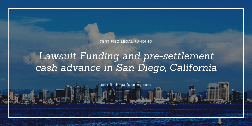 Pre-settlement cash advance in San Diego