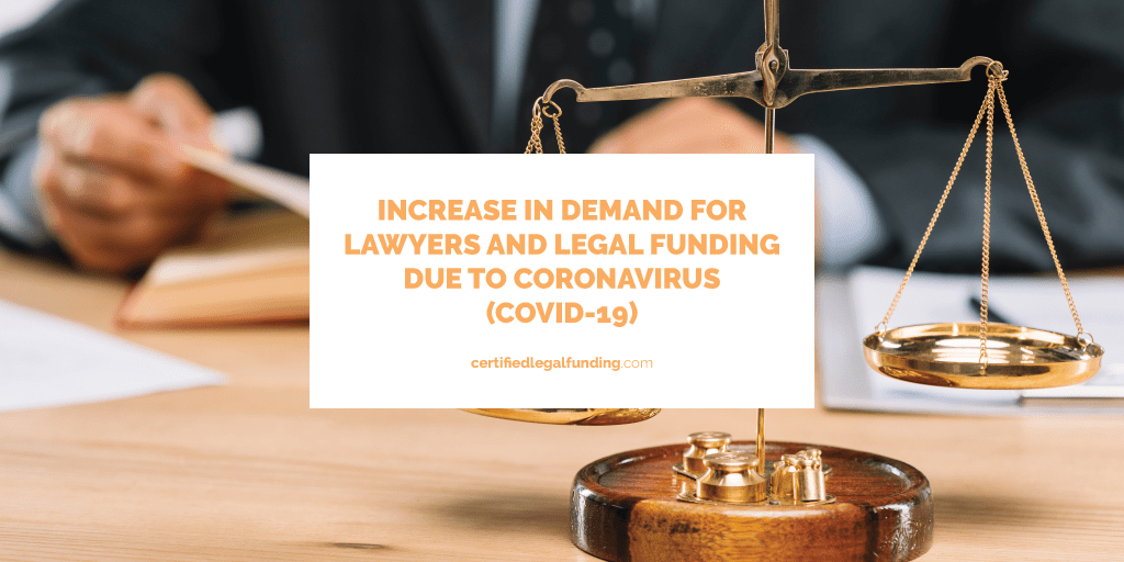 legal funding due to coronavirus