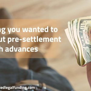 Featured image for an article called Everything you wanted to know about pre-settlement cash advances
