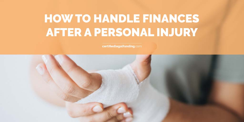 Featured image for article called How to handle finances after a personal injury