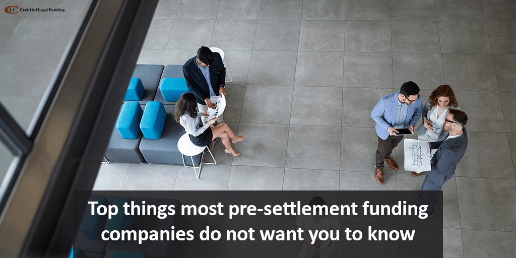 things most pre-settlement funding companies