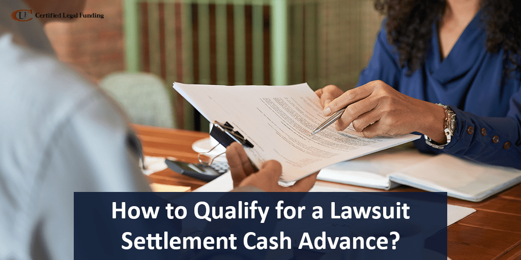 Lawsuit Settlement Cash Advance
